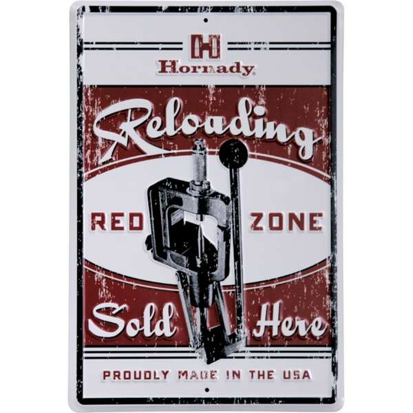 Decorative Hornady<sup>®</sup> Reloading Tin Sign