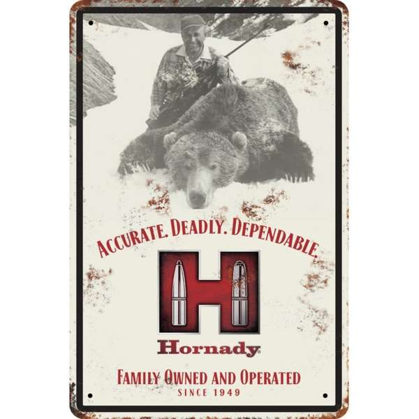 Decorative Hornady<sup>®</sup> Tin Sign