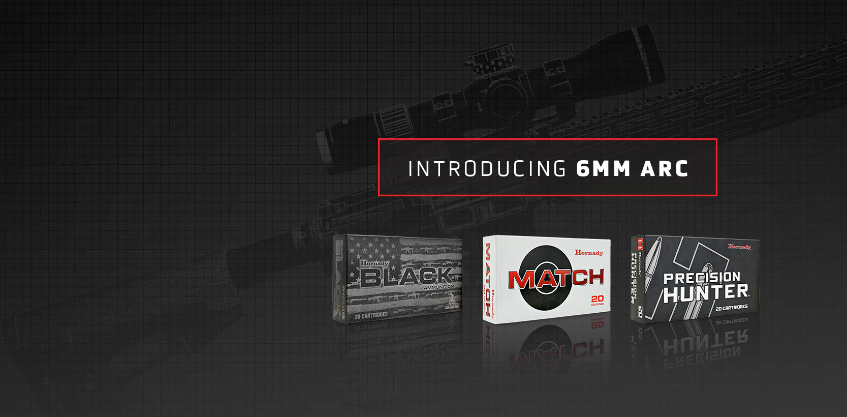 Slide number 5 6mm ARC(Advanced Rifle Cartridge) The new 6mm ARC utilizes efficient, high BC bullets to deliver unprecedented performance from a compact platform. The AR-15 has never had it this good! Find Out More