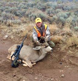 Wing Shooting Mule Deer
