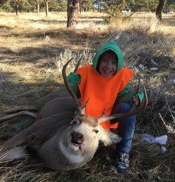His First Deer