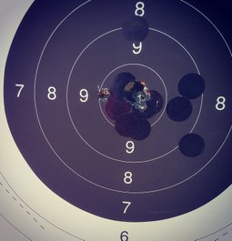 My wife first .222 shot