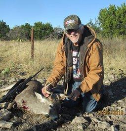 Creedmoor 143 Gr. ELD-X 145Yard shot on Texas Whitetail