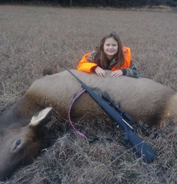 9 Year Old Daughter's First Elk