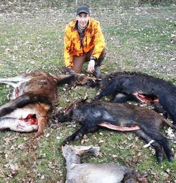Incredible hunting day