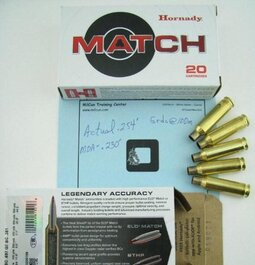 Tight Group Birthday Gift- Thank You Hornady-