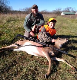 His first deer