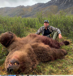 Lifetime Boone and Crockett Grizzly