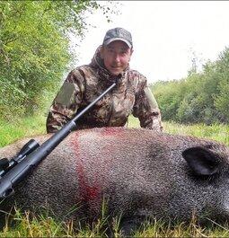Big boar in France !