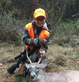 First Buck in Arkansas