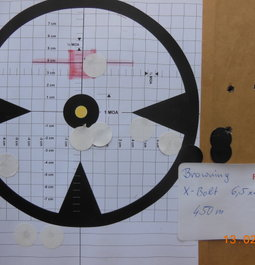 6.5x55  140grs Amax  at 490 yards