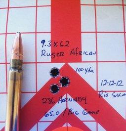 9.3 x 62 Ruger Hawkeye African