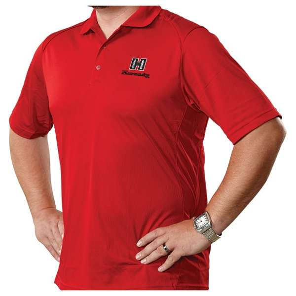 Hornady® Red Polo Moisture-Wicking Shirt
