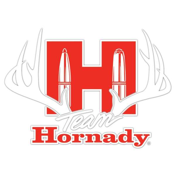 Team Hornady<sup>®</sup> Antlers Sticker