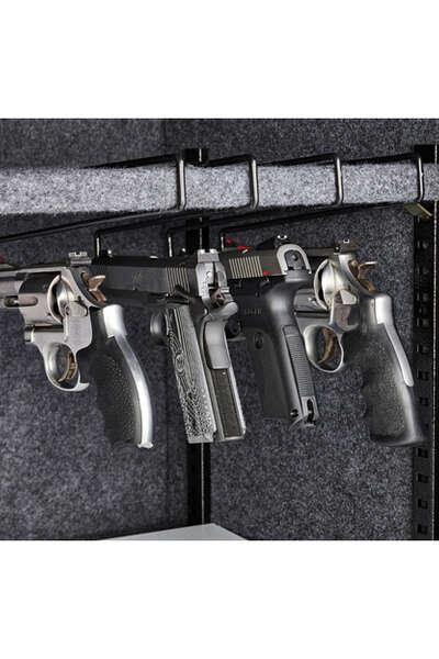 SnapSafe® Universal Handgun Hangers (4-Pack)