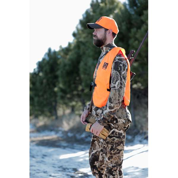 100% Polyester Hornady® Blaze Orange Hunting Vest