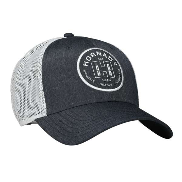 Blue & White Established Mesh Cap