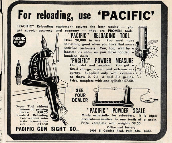 Retro Hornady Pacific Ad