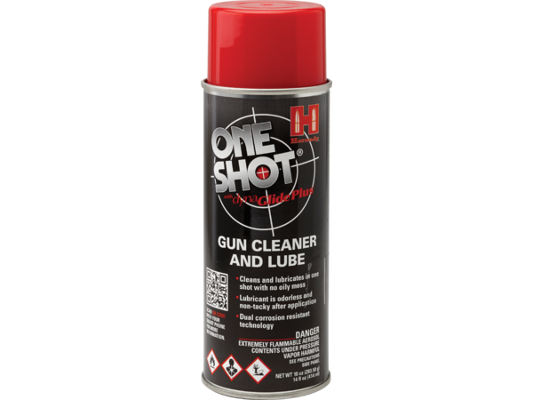 Photo of One Shot Firearm Cleaner & Lube
