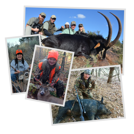 Photo of Team Hornady Members