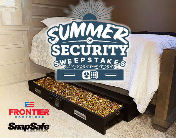 Enter to win Summer of Security Sweepstakes! - Hornady