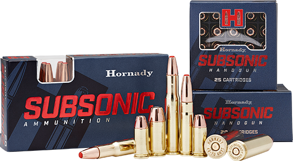 Photo of Subsonic Rifle and Handgun from Hornady®