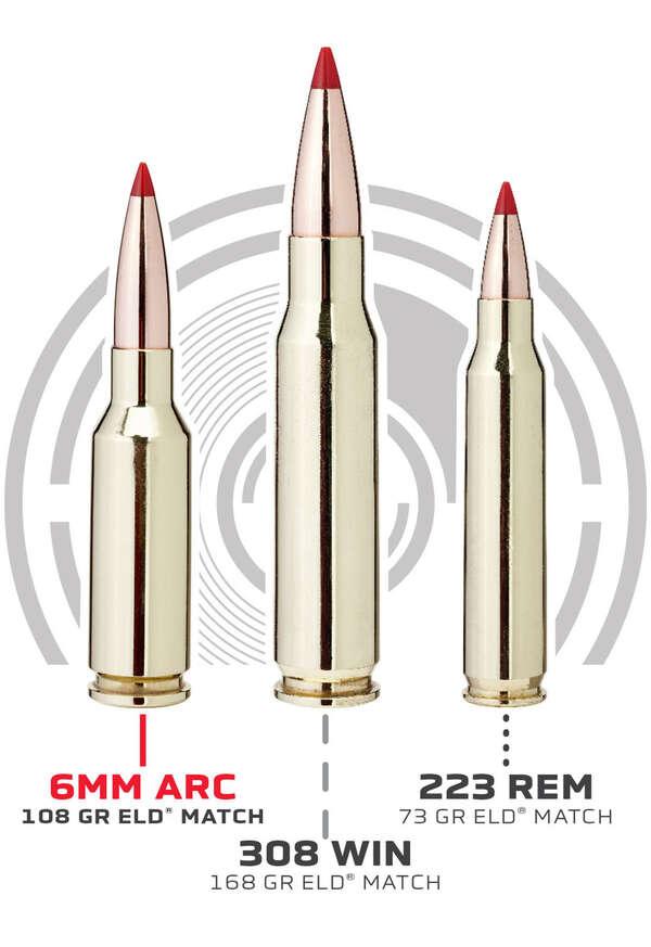 6mm ARC ammo comparison