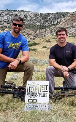 Team Hornady® Shooters Murphy and Hamilton Win Burris Team Challenge