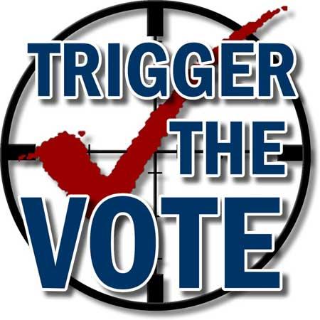 Trigger the Vote Logo