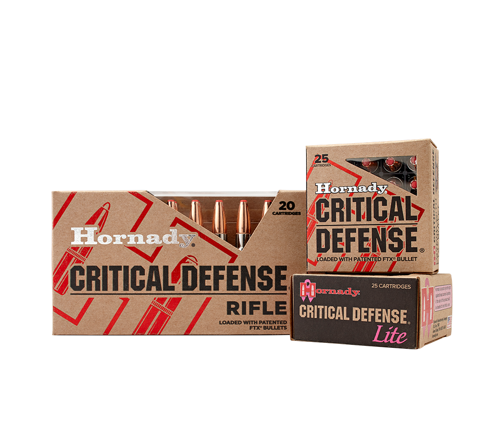 Critical Defense® - Hornady Manufacturing, Inc