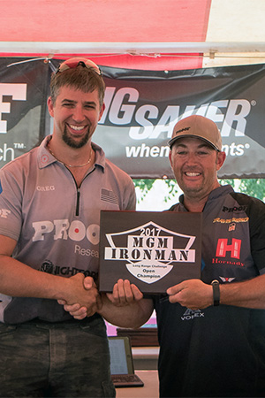 Shooter Wins Ironman with Hornady® Match™ Ammo