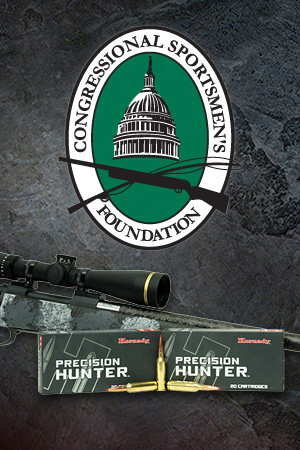 Hornady<sup>®</sup> Joins with Leupold & Stevens and Nosler to Support Congressional Sportsmen's Foundation