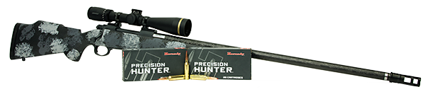 rifle with precision hunter ammunition