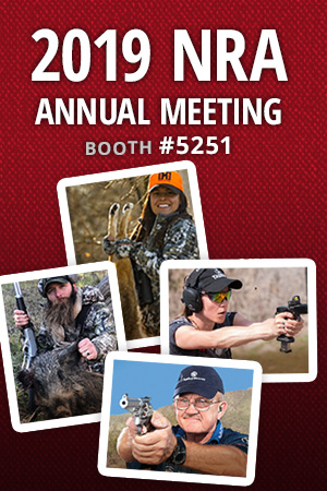 Hornady® Announces 2019 NRA Annual Meeting appearances at Booth 5251