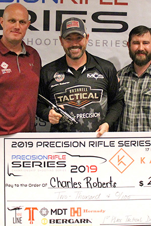 Roberts Shoots A-Tip™ Bullets to Win PRS Tactical Division