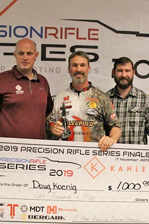 Koenig Wins PRS Production Division Using A-Tip™ Bullets