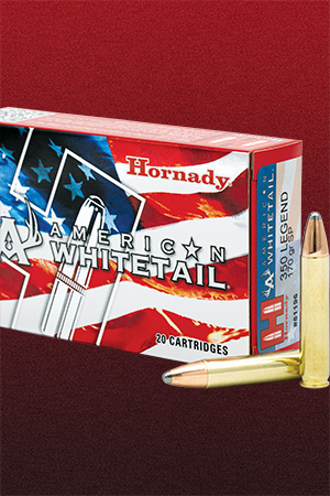 Hornady® Now Shipping 350 Legend