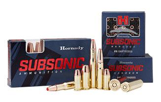 Subsonic handgun rifle photo