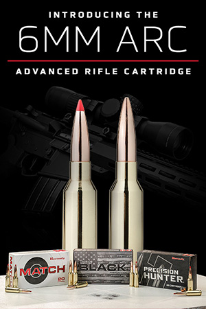 Hornady® Receives Golden Bullseye for 6mm ARC Ammunition