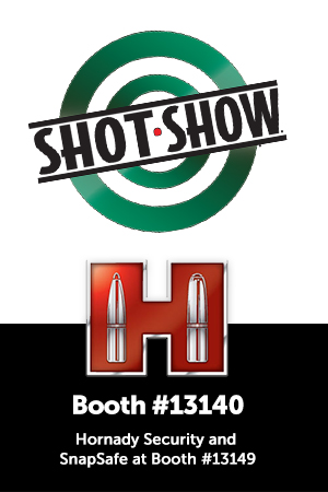 Hornady<sup>®</sup> Doubles SHOT Show Space, Adds SnapSafe<sup>®</sup>