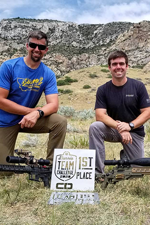 Team Hornady® Shooters Murphy and Hamilton Win Burris Team Challenge