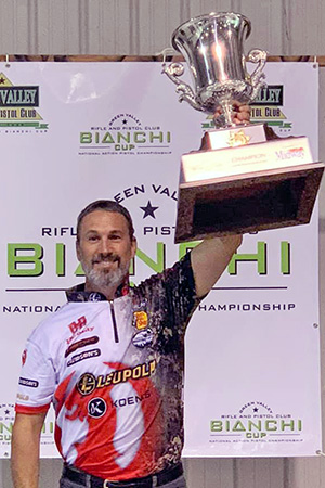 Hornady® Shooter Doug Koenig takes 19th Bianchi Cup Victory