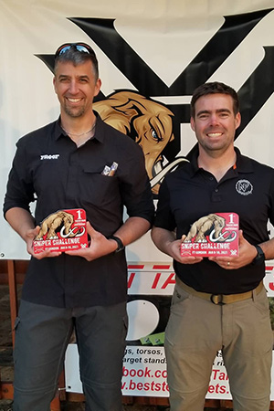 Team Hornady® Shooters Murphy and Hamilton Win Mammoth Sniper Challenge